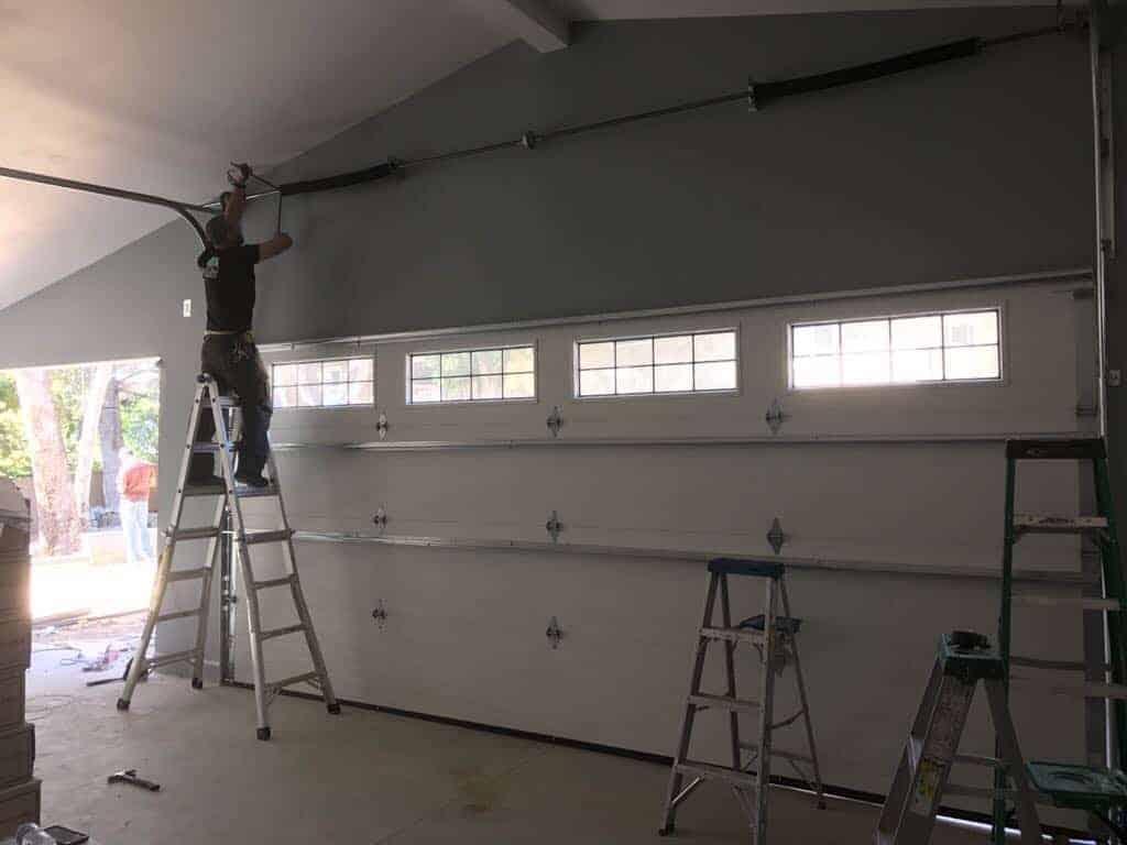 Garage Door Broken Spring Repair In San Diego Country Estates