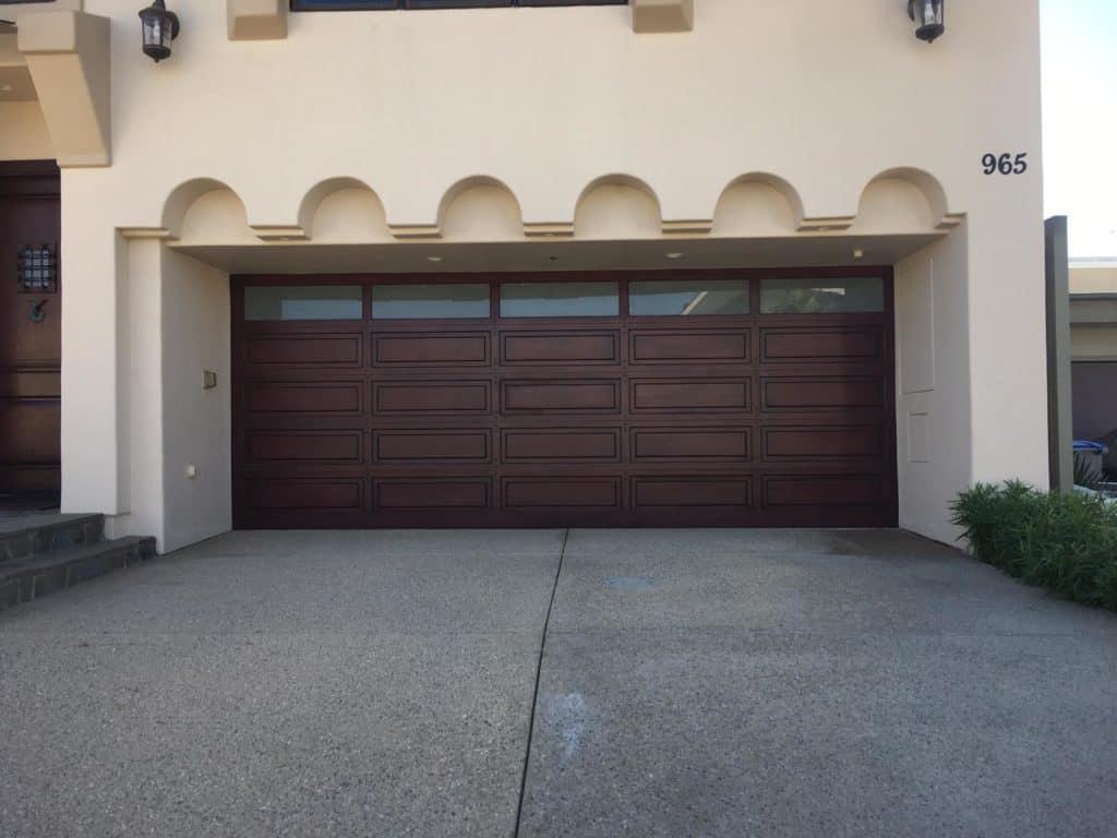 Burlingame Garage door repair and replacement