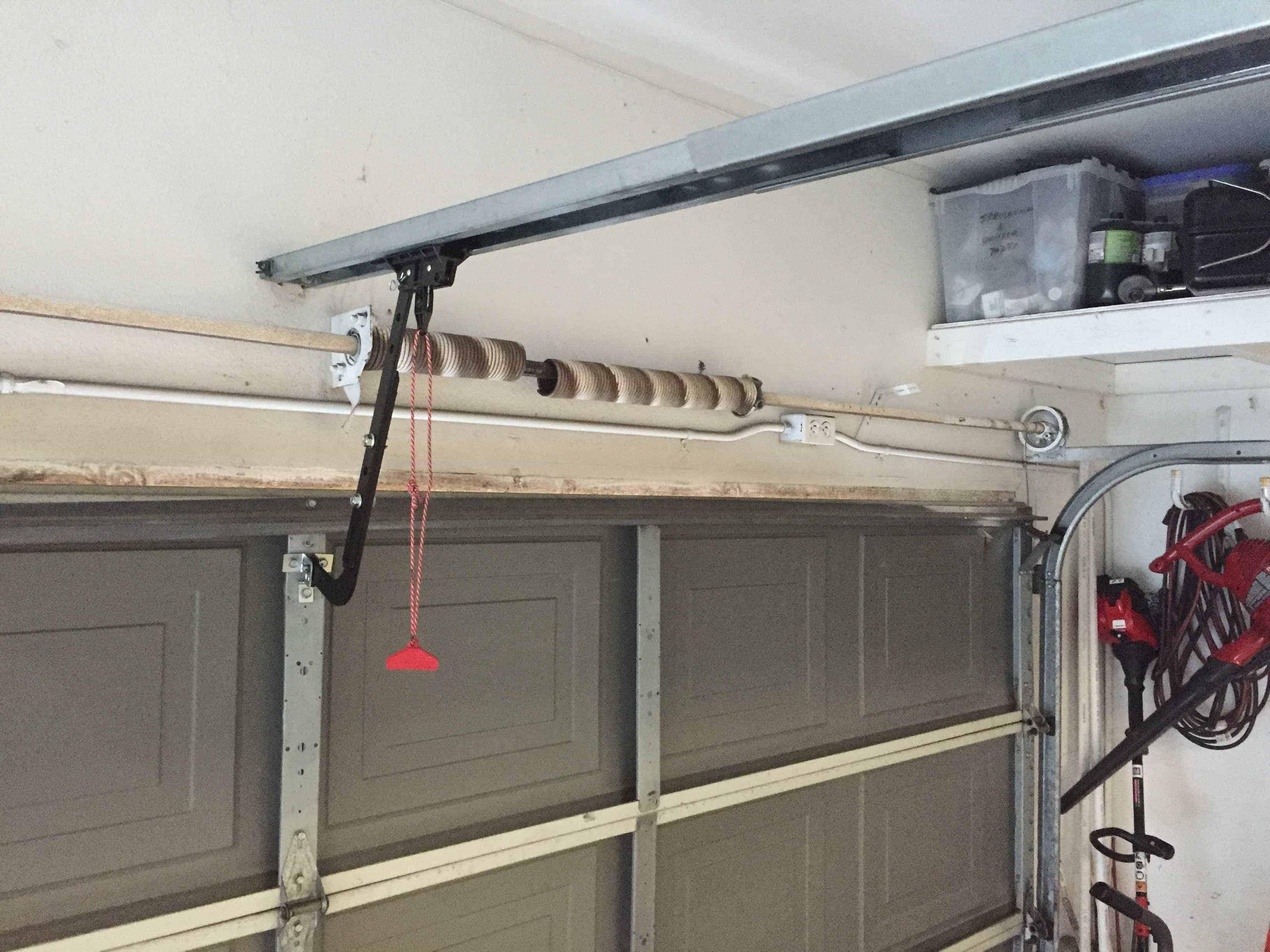 Garage Door Spring Replacement in Ione